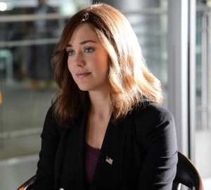 "Megan Boone in her role as an FBI profiler in ""The Blacklist."""