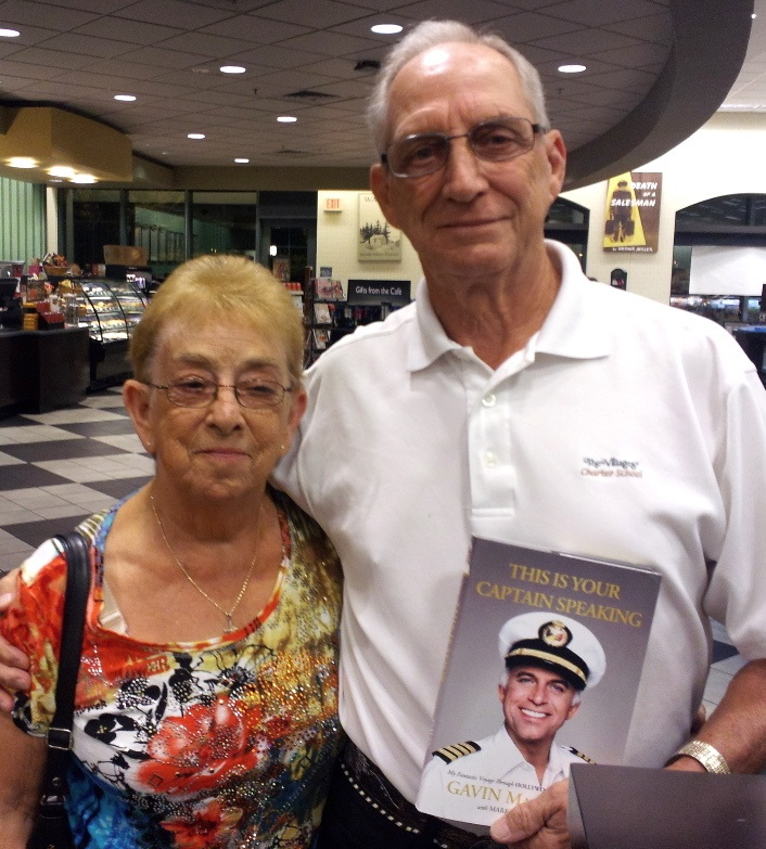 Villagers thrilled to see Gavin MacLeod of television's 'Love Boat' fame