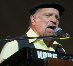Felix Cavaliere on stage at The Sharon playing Rascals songs.