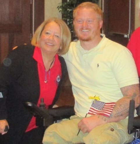 Marine who lost legs in Afghanistan, gets new set of wheels from Villagers