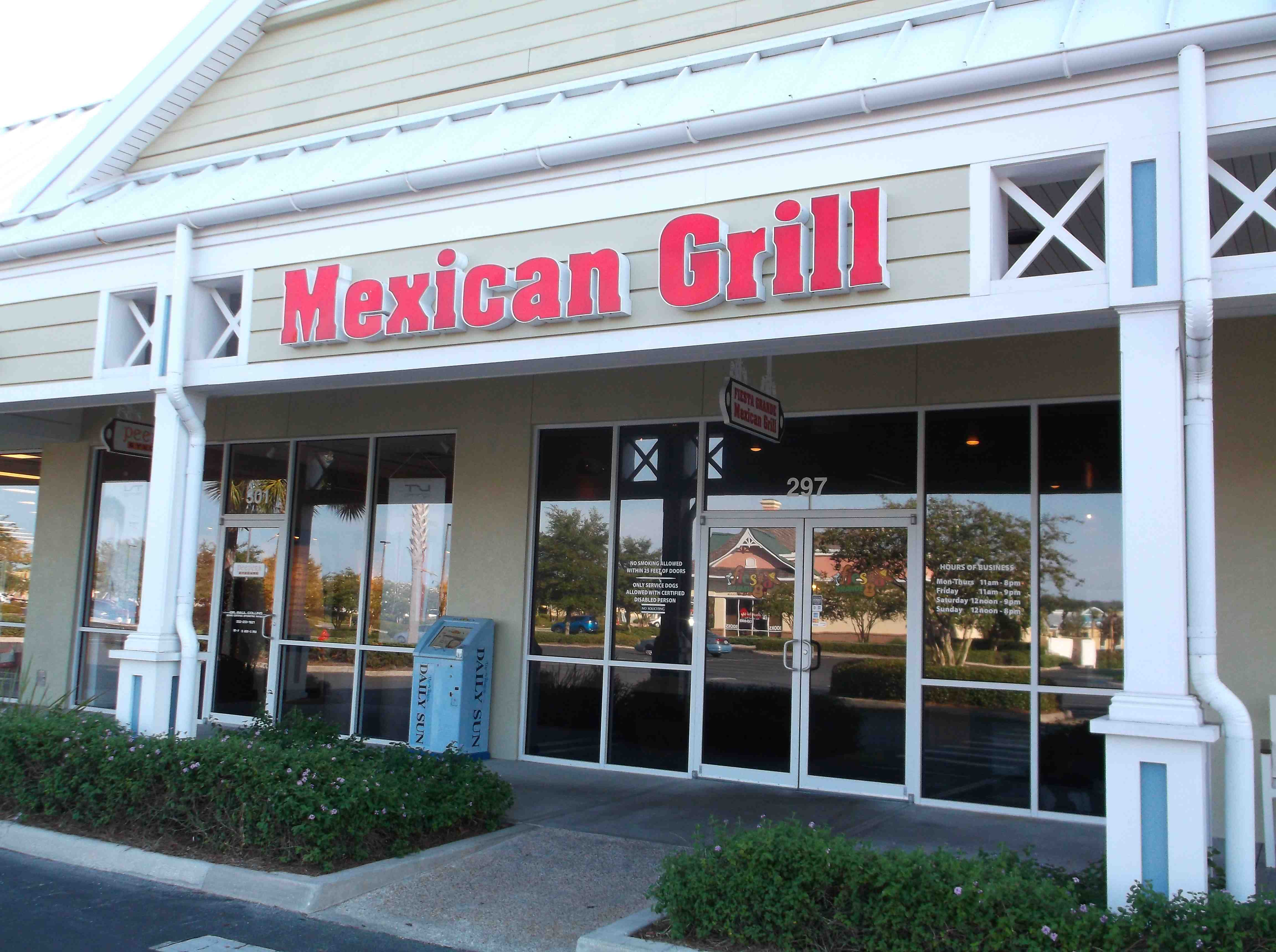 Mexican Restaurant Colony Plaza The Villages Fl