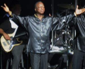 Henry Fambrough is an original member of the Spinners who performed Saturday at The Sharon.
