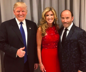 Donald Trump tweeted this photo of him with Lee Greenwood and his wife Kimberly.
