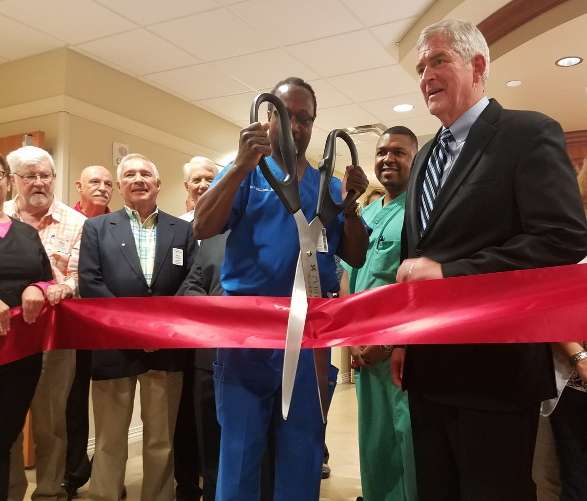 Ribbon cutting at Joint Institute in The Villages