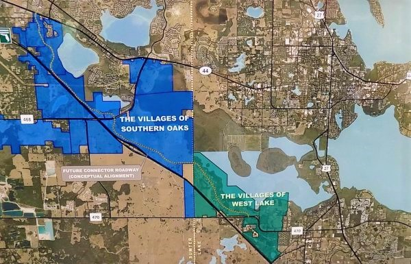 Route altered for Leesburg to deliver wastewater to Villages of West Lake