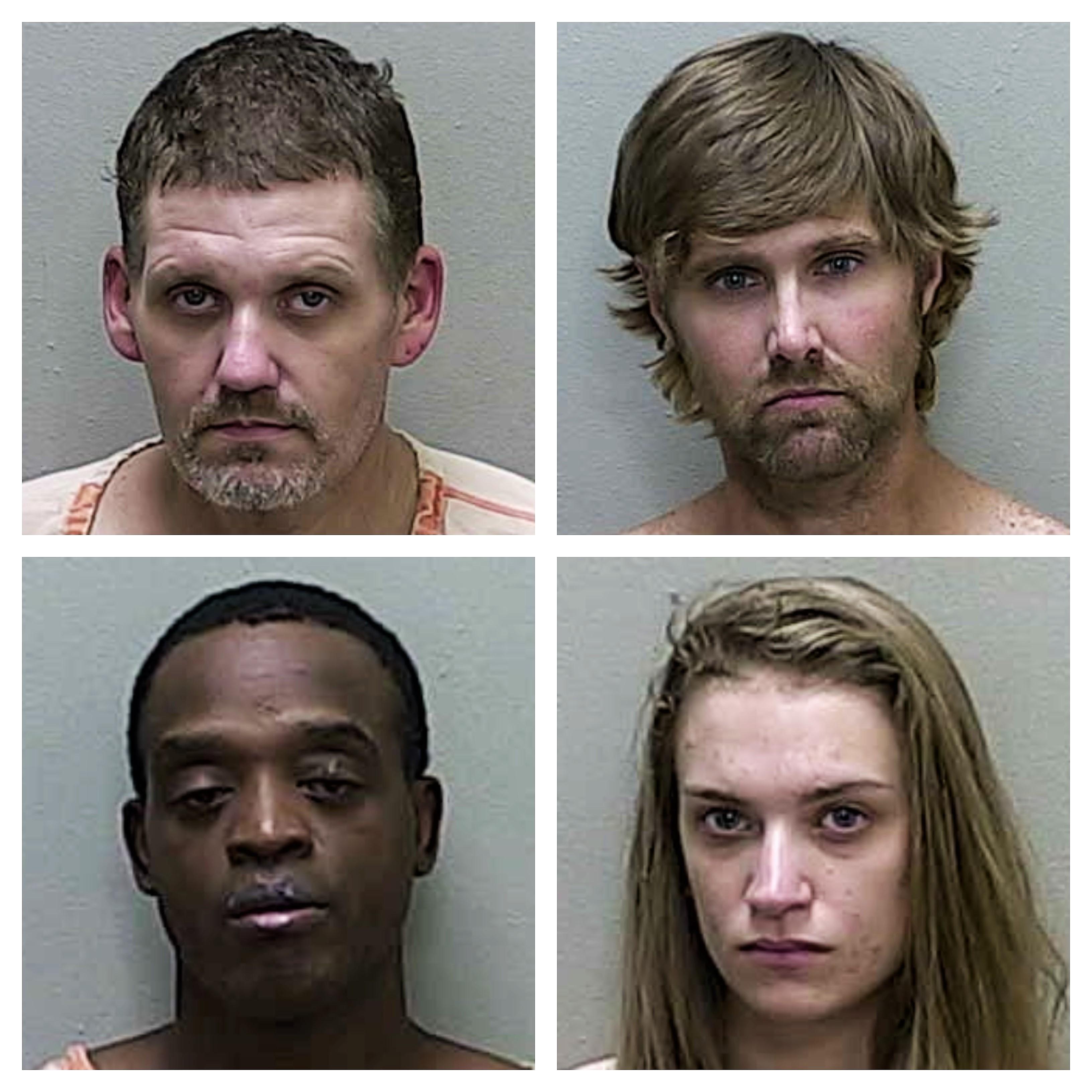 Four arrested during drug strike team raids in Ocala - Villages-News com