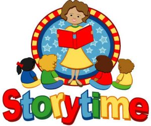 Storytime @ The Villages Public Library at Pinellas Plaza in the Children's Area