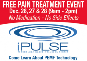 Free Pain Treatment Event at iPulse @ iPulse | Summerfield | Florida | United States