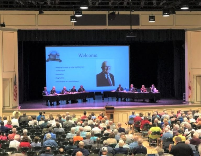 Huge crowd attends final Sumter County hearing on 25 percent tax hike