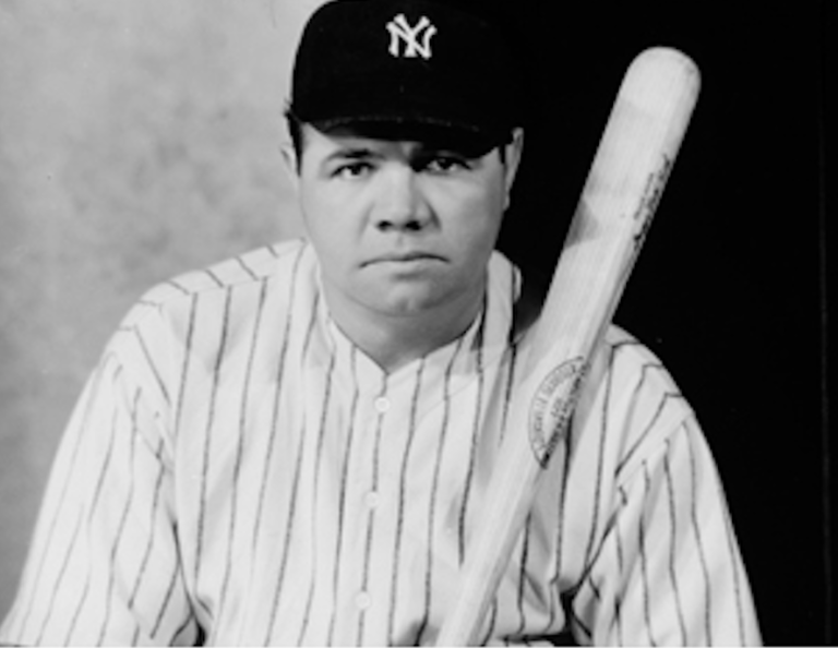 Babe Ruth's notorious womanizing may have been his downfall