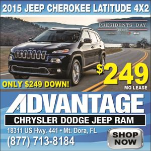Advantage Chrysler Cherokee Latitude - Villages News